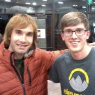 John and Chris Sharma